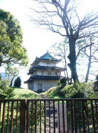 2010.2.20-東京ぶらりひとり旅005~東御苑014~「富士見櫓」