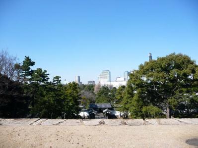 2010.2.20-東京ぶらりひとり旅005~東御苑030~「天守台より臨む」01