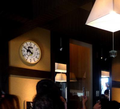 たまステーション完成披露13-駅舎の中-時計