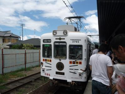 たまステーション完成披露25-たま電車