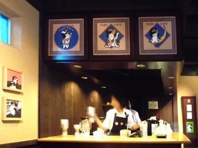 たまステーション完成披露29-駅舎の中のカフェ