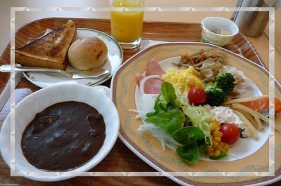 西脇市へ2010.07.31-01~西脇ロイヤルホテルでの朝食01