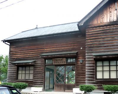 西脇市へ2010.07.31-鍛冶屋線ー市原駅記念館02~裏側
