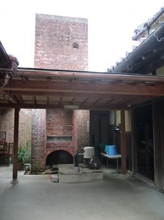 西脇市へ2010.07.31-旧来住家04~煉瓦の煙突