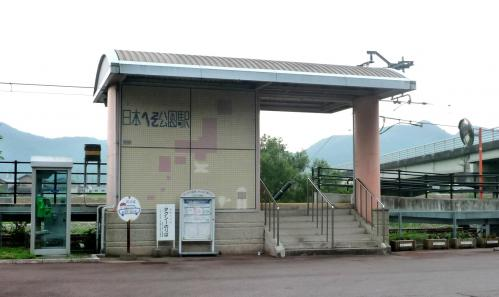 西脇市へ2010.07.31- 日本のへそ公園駅