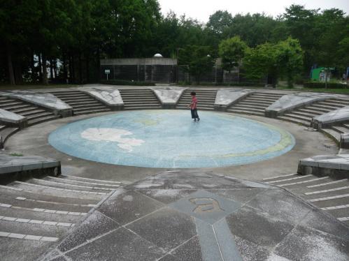 西脇市へ2010.07.31- 日本へそ公園02