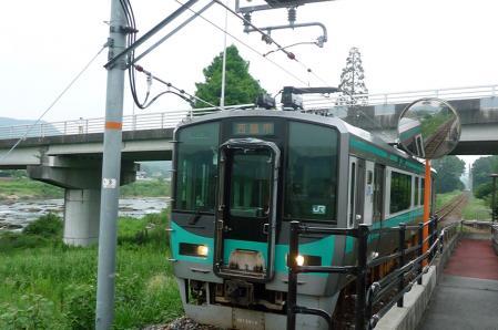西脇市へ2010.07.31- 日本へそ公園駅にて 03
