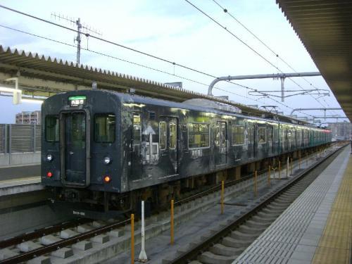 西脇市へ2010.07.31- 加古川線~横尾さんのラッピング電車07「走れY寺路」