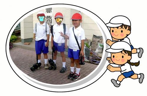 運動会の朝に2010-01