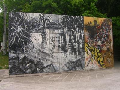 西脇市へ2010.07.31-岡之山美術館06-横尾忠則の作品