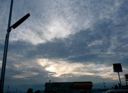 ドラマチックな雲2010秋