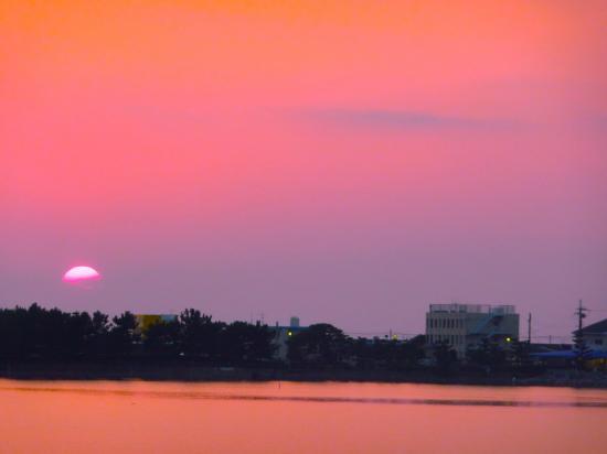 紀三井寺の夕焼け02