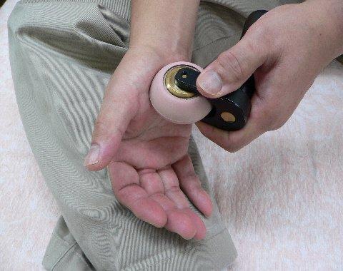 手掌の膀胱の反射区