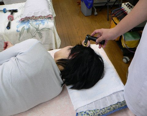 頭部の高血圧の反応点