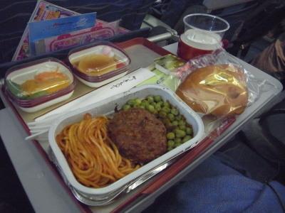 機内食子供