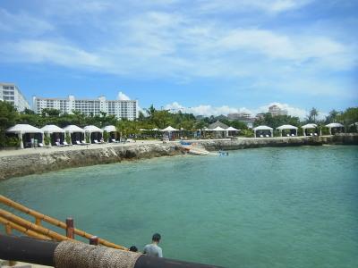ホテルの海岸