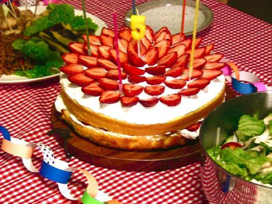 そら5才 ケーキ