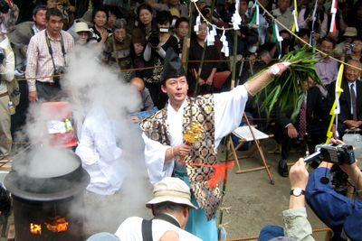 御霊神社~鎌倉神楽。