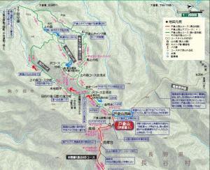 地図 戸倉山
