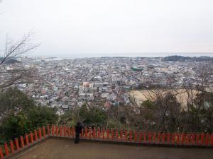 神倉神社からの眺め
