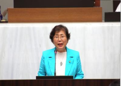 2011年6月議会一般質問写真