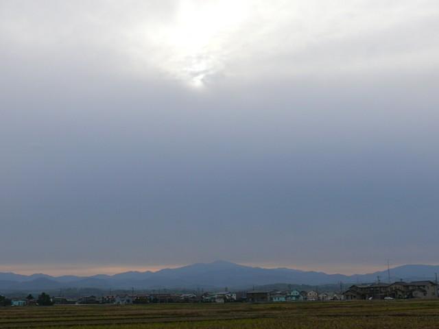 白山 遠景