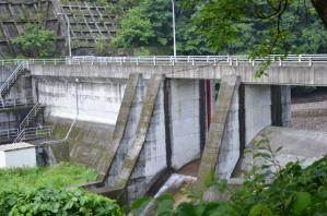 市野萱川取水ダム