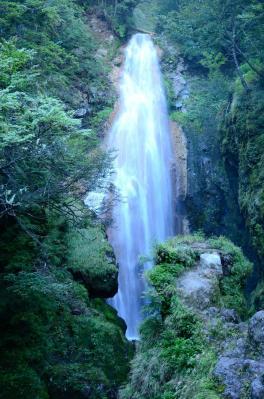 三本滝 中滝
