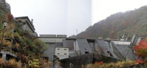 宇奈月ダム パノラマ写真_convert_