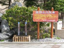 谷川岳SAの名水