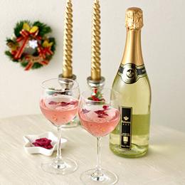 クリスマスセット「金箔入りスパークリングワイン