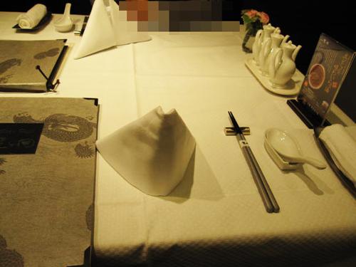 星ヶ丘 テーブルセッティング