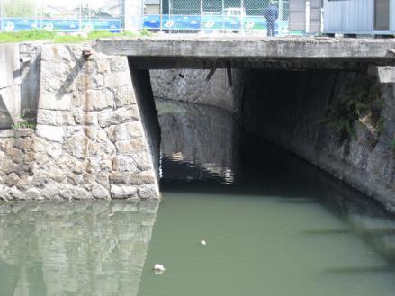 港橋北側工事20100322⑤