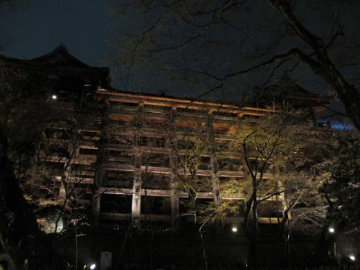 清水寺ライトアップ20100324?