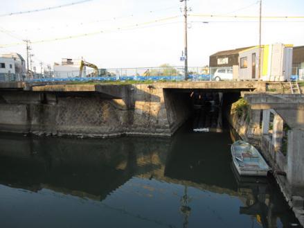 港橋北側工事20100330⑤