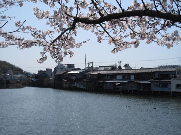 港橋北側工事20100404上流側遊水池の風景