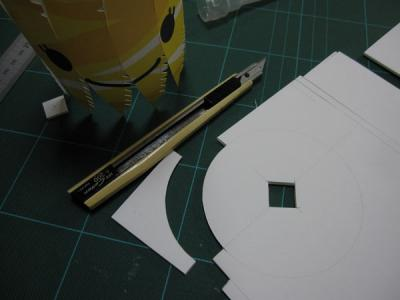 きんせいちゃん製作5補強材製作1