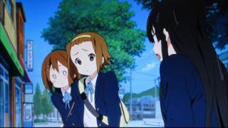 けいおん!!#4「修学旅行!」10旅館周辺2-4-0(画面)