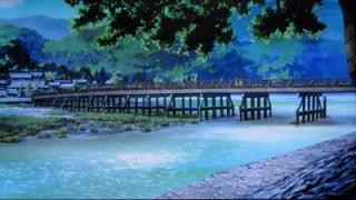 けいおん!!#4「修学旅行!」7嵐山1-6-0(画面)