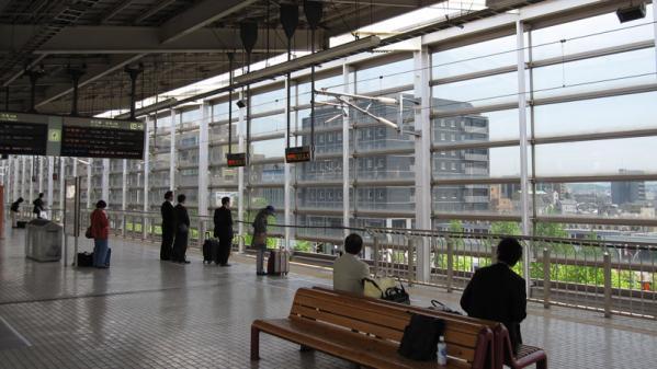 けいおん!!#4「修学旅行!」3京都駅3-2