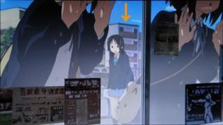 けいおん!!#4「修学旅行!」5旅館周辺1-1-0-2(画面・加工)
