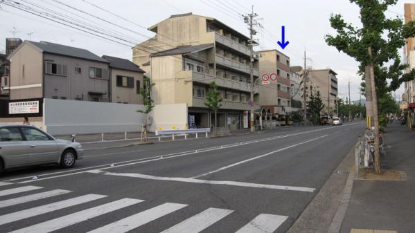 けいおん!!#4「修学旅行!」5旅館周辺1-0(1&3の参考画像)