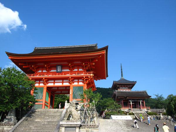 清水寺20100622-1(仁王門・西門・三重塔)