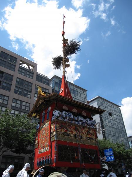 祇園祭2010山鉾巡行【長刀鉾】2(2010/7/17)