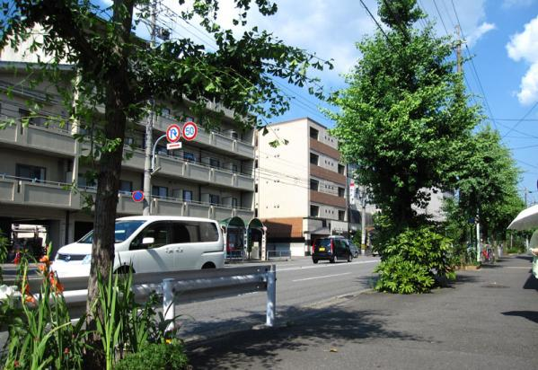 けいおん!!#4「修学旅行!」10旅館周辺2-1