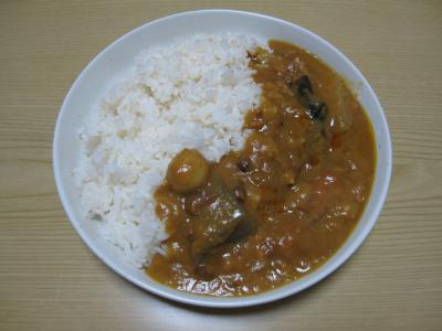 『おでんカレー』食べた(20100731)