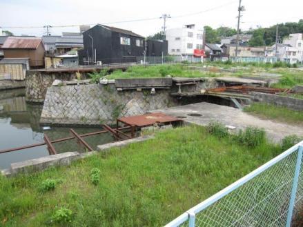 港橋上流側?2009年5月5日