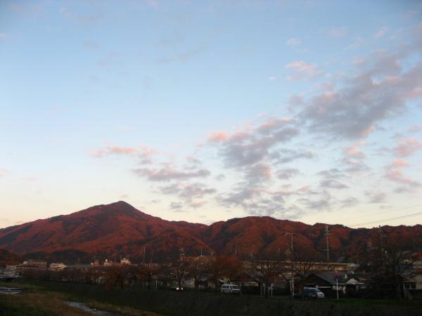 比叡山20081201夕方