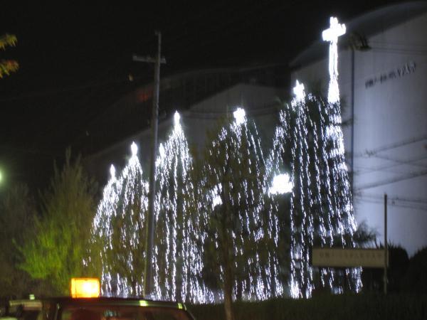 クリスマスイルミネーション20091127