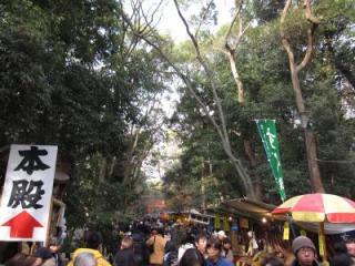 下鴨神社参道20100101②